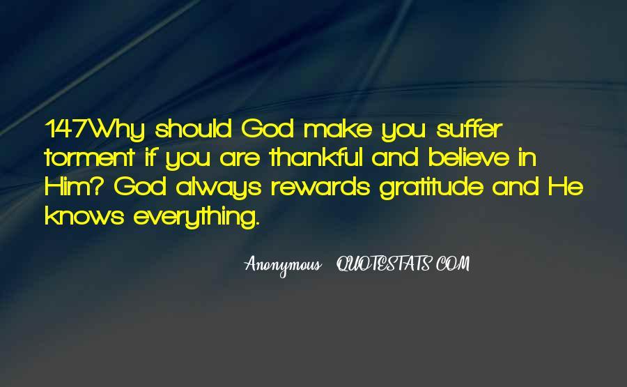 God Rewards Quotes #1850408