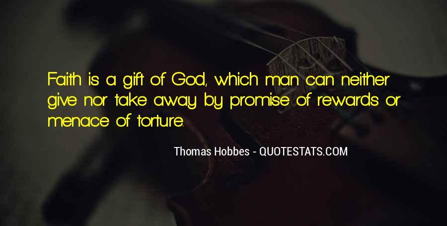 God Rewards Quotes #1850696