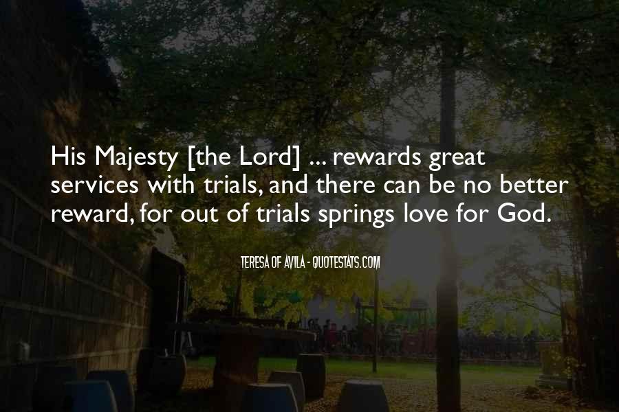 God Rewards Quotes #212177