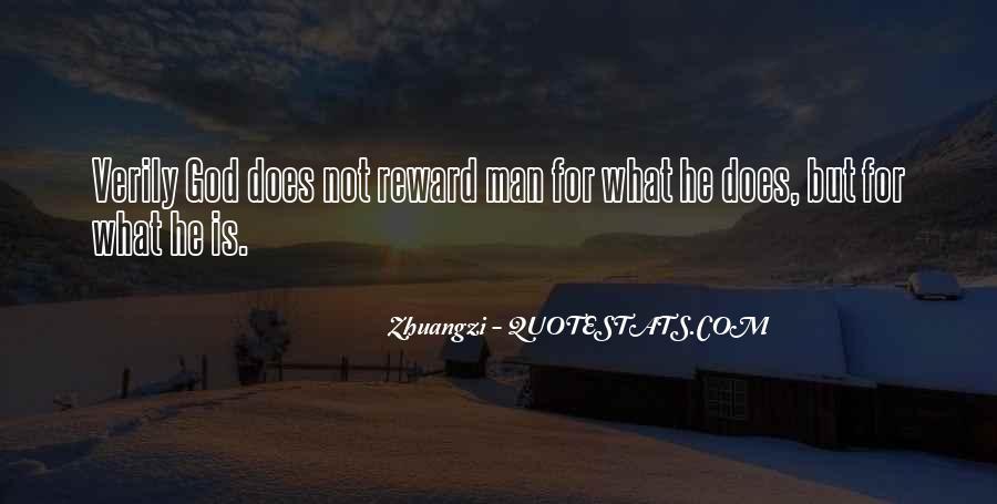 God Rewards Quotes #331267