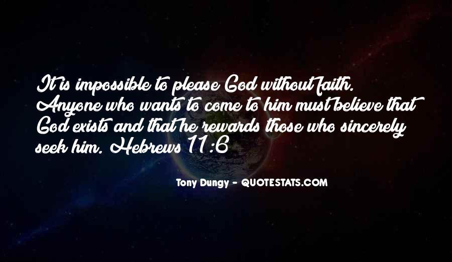 God Rewards Quotes #354363