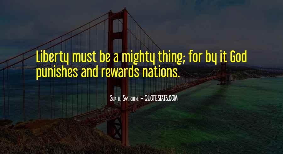 God Rewards Quotes #385296