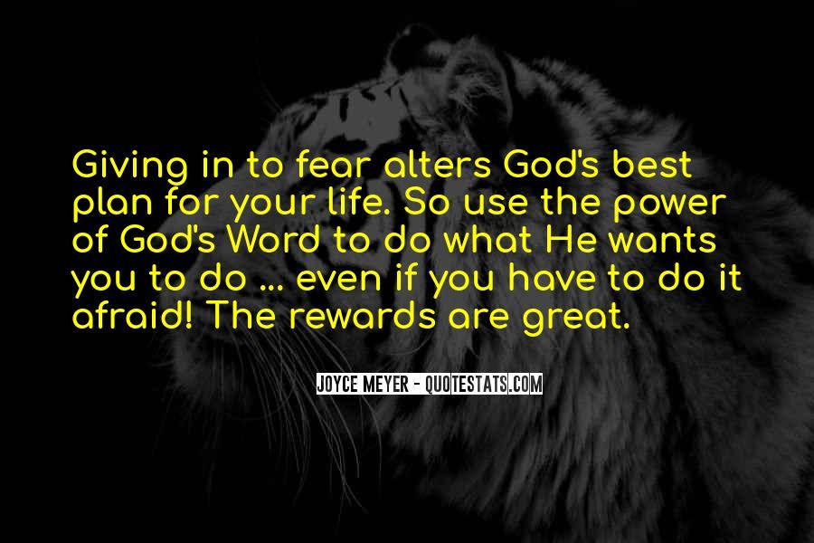 God Rewards Quotes #40590