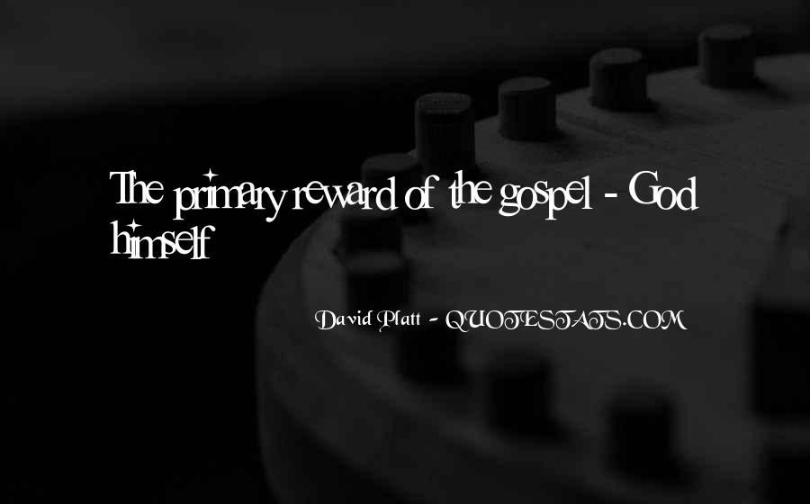 God Rewards Quotes #451827