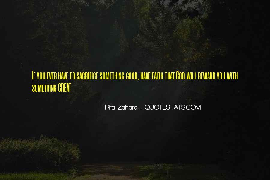 God Rewards Quotes #486696