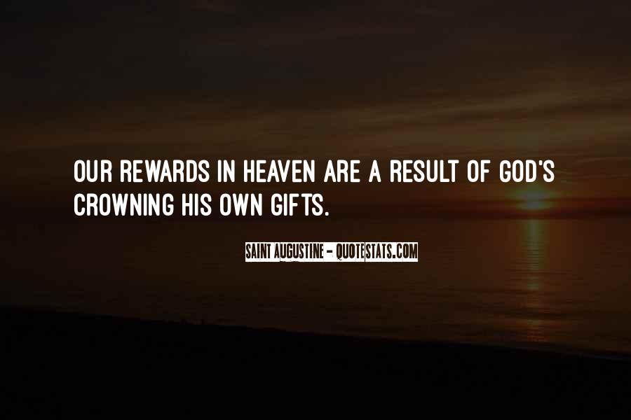 God Rewards Quotes #51091