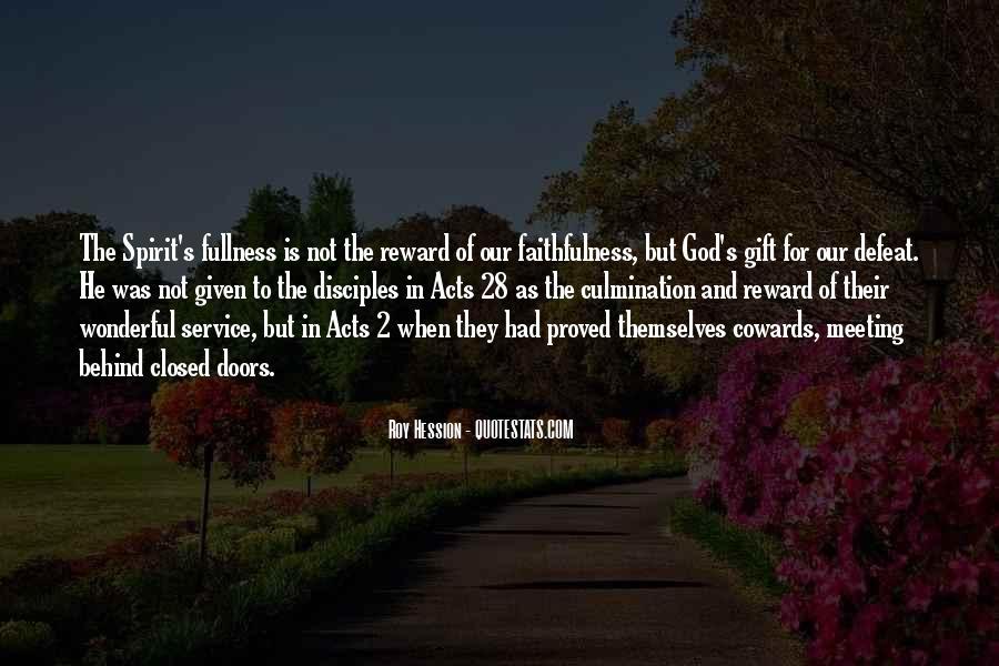 God Rewards Quotes #643459
