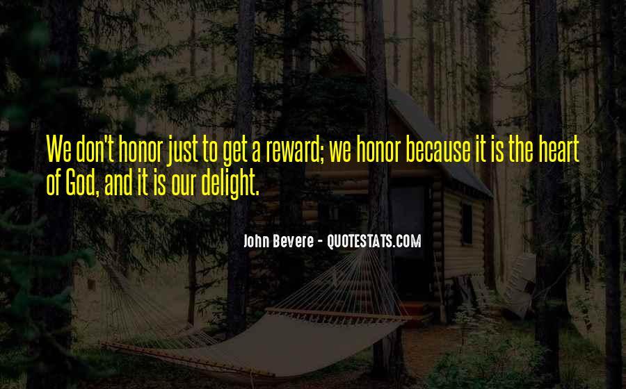 God Rewards Quotes #689854