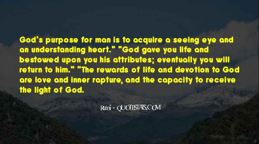 God Rewards Quotes #70862