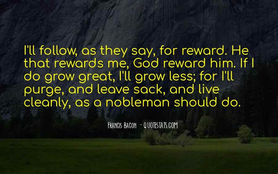 God Rewards Quotes #789210