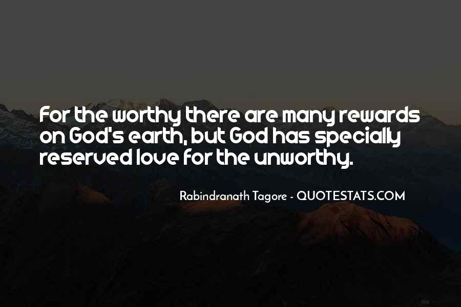 God Rewards Quotes #929543