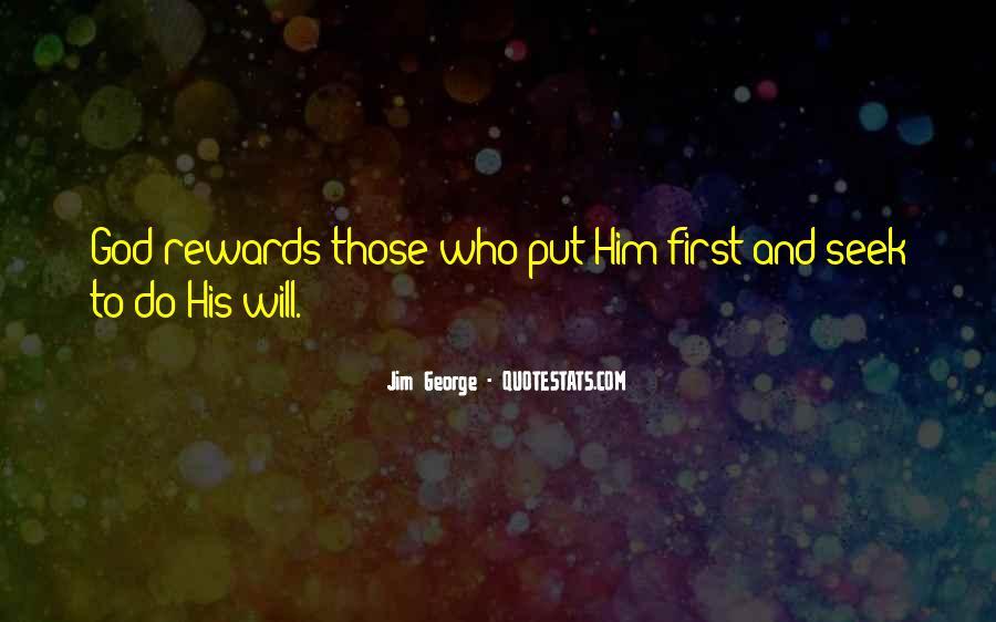 God Rewards Quotes #952164