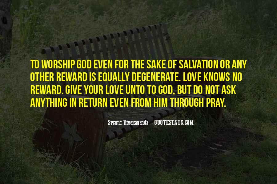 God Rewards Quotes #988124
