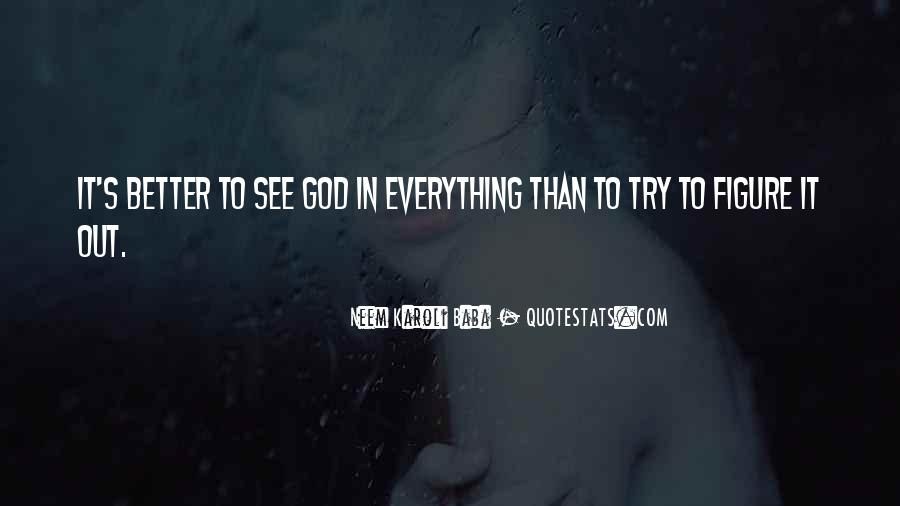 God See Everything Quotes #215120