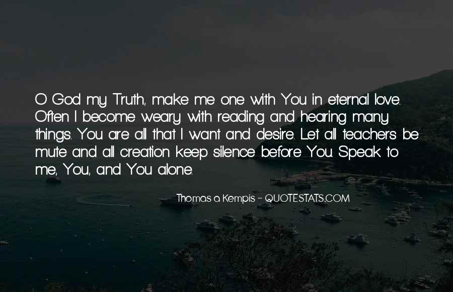 God Speak To Me Quotes #1021901