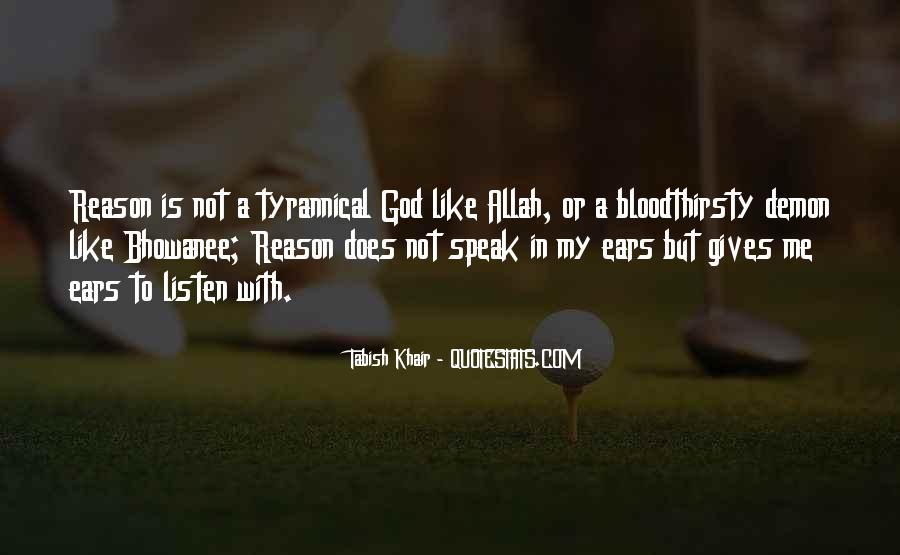 God Speak To Me Quotes #1067821