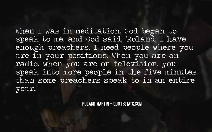 God Speak To Me Quotes #1161779