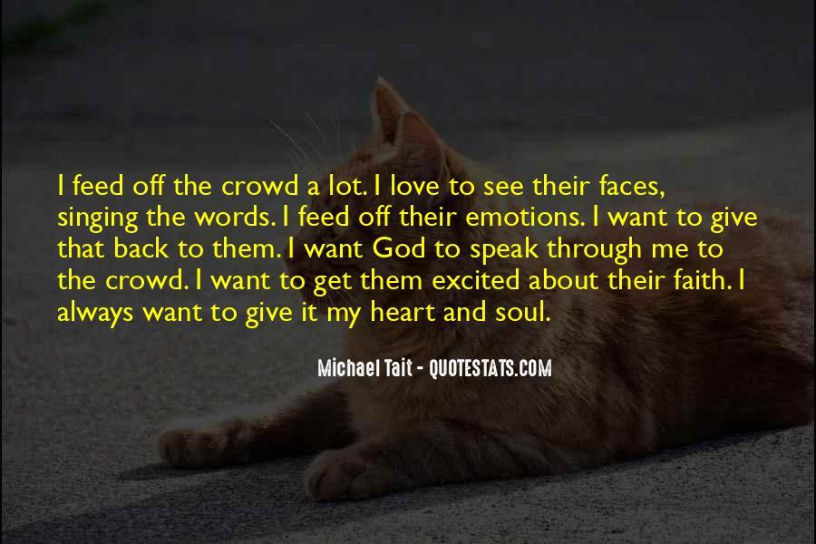 God Speak To Me Quotes #1200516