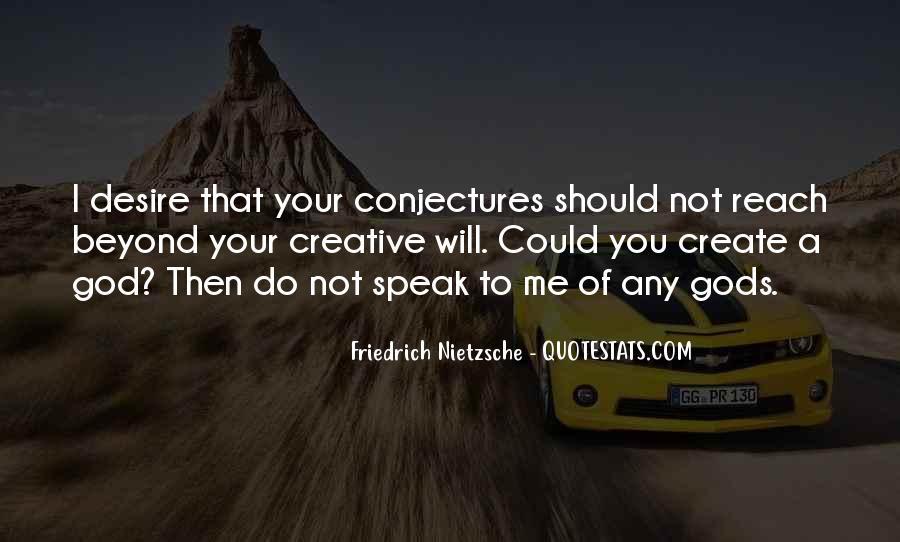 God Speak To Me Quotes #1337911
