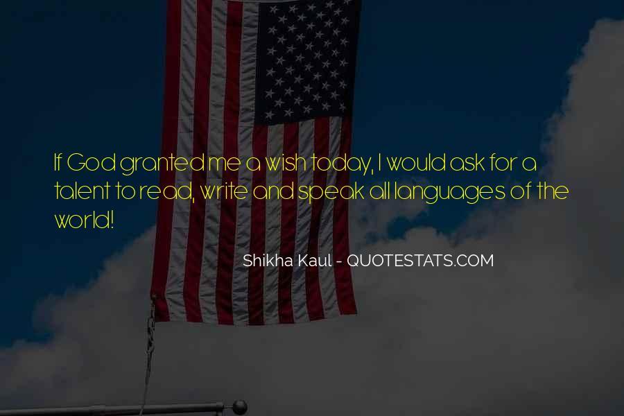 God Speak To Me Quotes #1390264