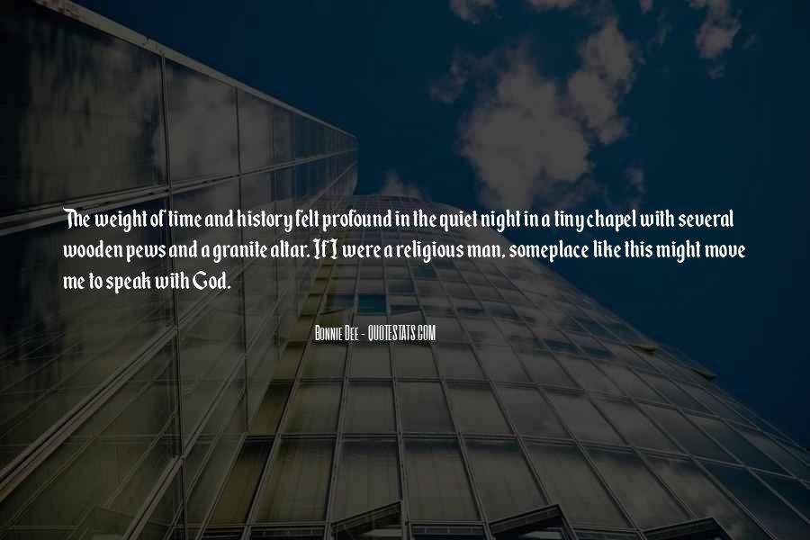 God Speak To Me Quotes #1611115