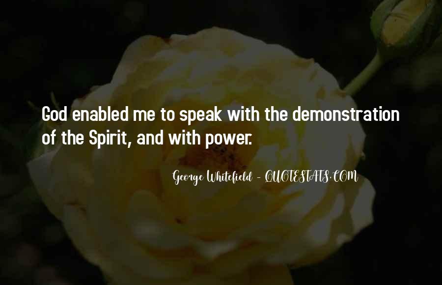 God Speak To Me Quotes #251487