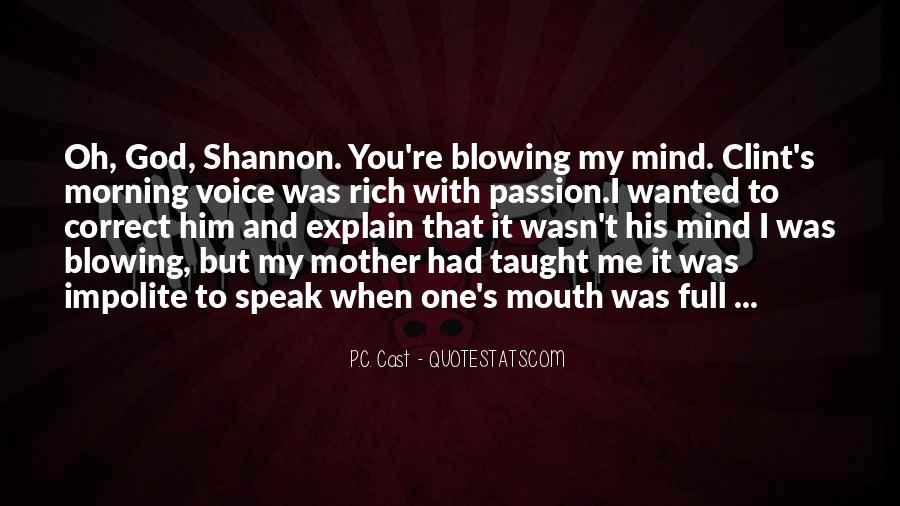 God Speak To Me Quotes #510769