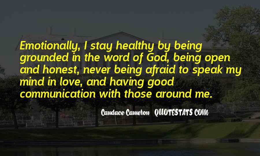 God Speak To Me Quotes #603364