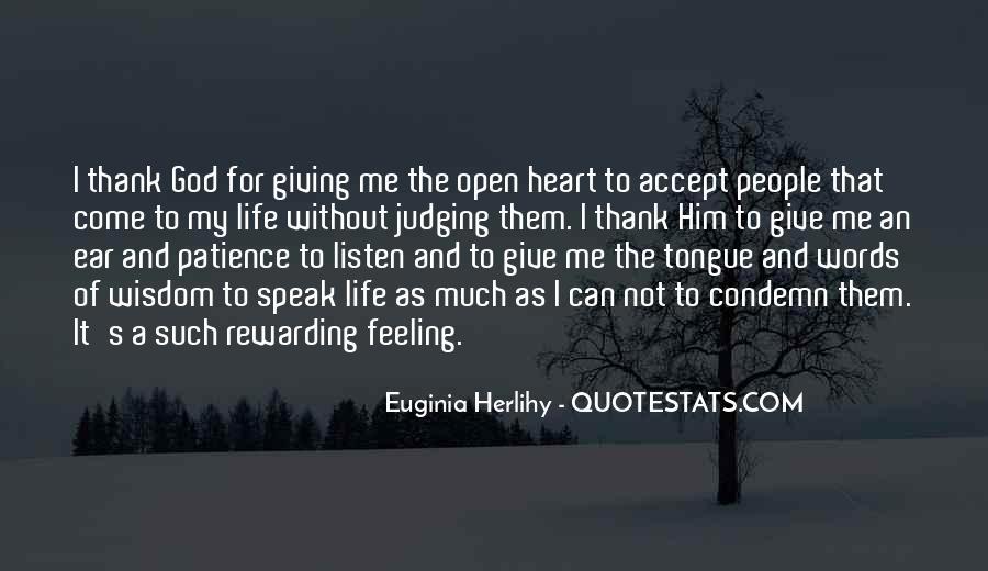 God Speak To Me Quotes #860419