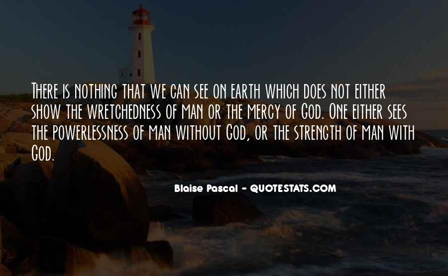God Strength Quotes #102099