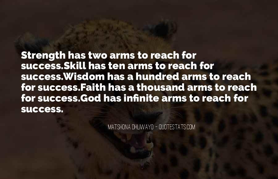 God Strength Quotes #106597