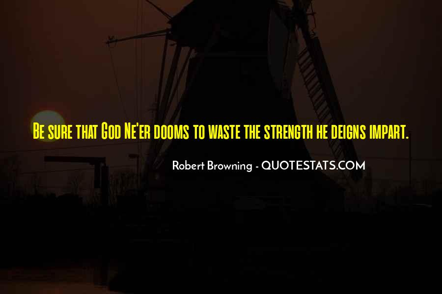 God Strength Quotes #111230