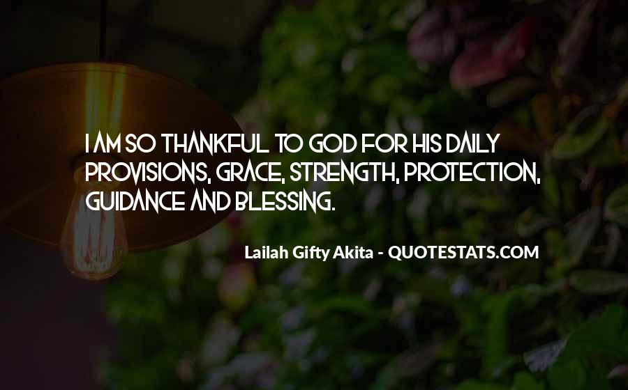 God Strength Quotes #113995