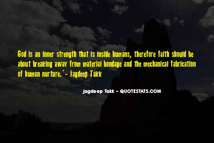 God Strength Quotes #118232