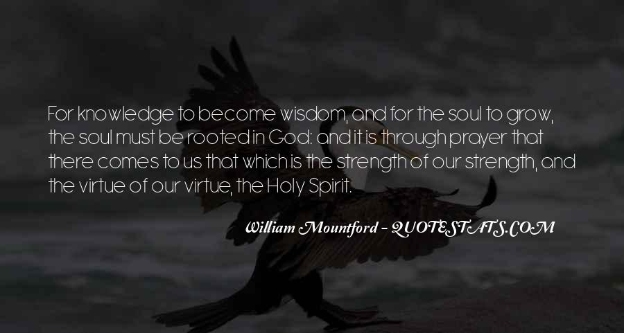 God Strength Quotes #121345