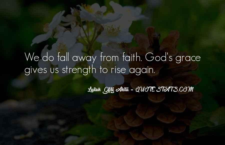 God Strength Quotes #122239