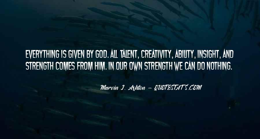 God Strength Quotes #136605