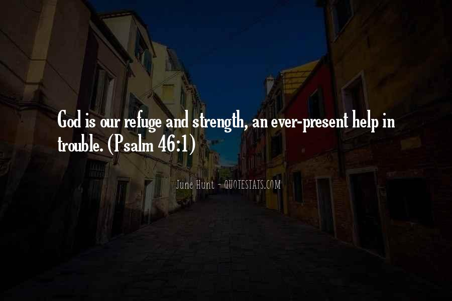 God Strength Quotes #144557