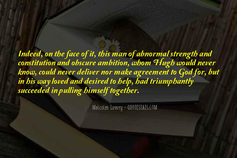 God Strength Quotes #146402