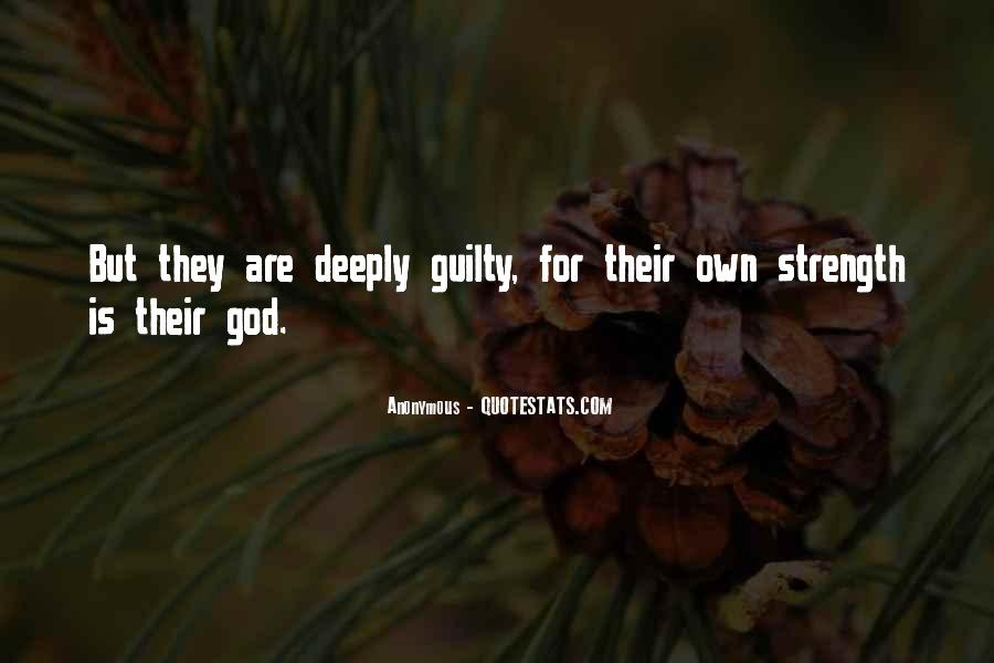 God Strength Quotes #147919