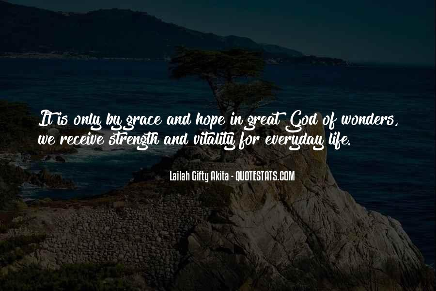 God Strength Quotes #152003