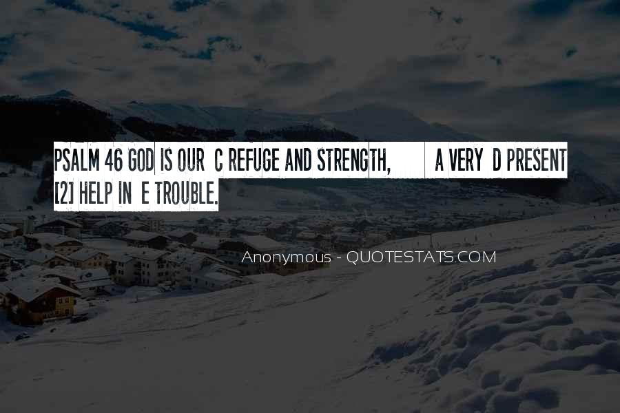 God Strength Quotes #15537