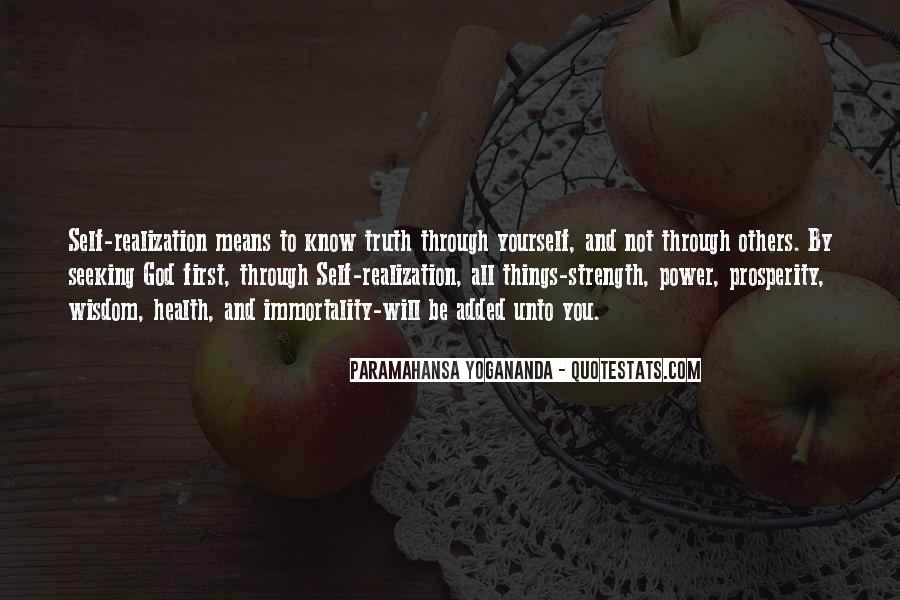 God Strength Quotes #157723