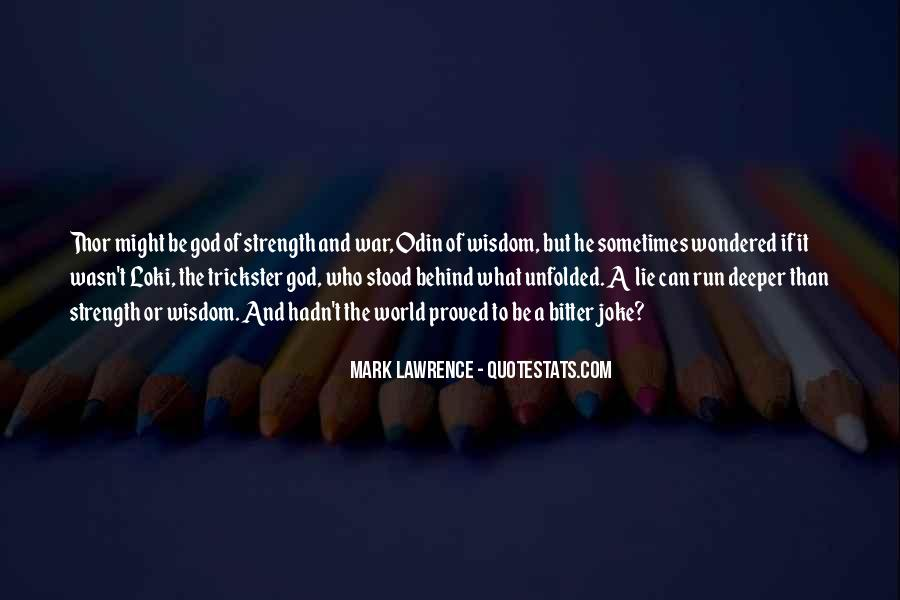God Strength Quotes #171803
