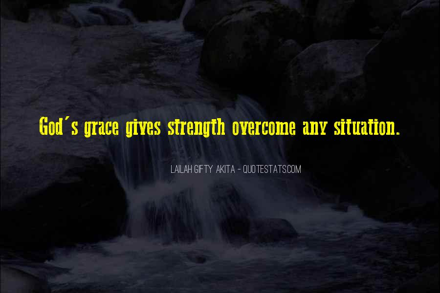 God Strength Quotes #17702