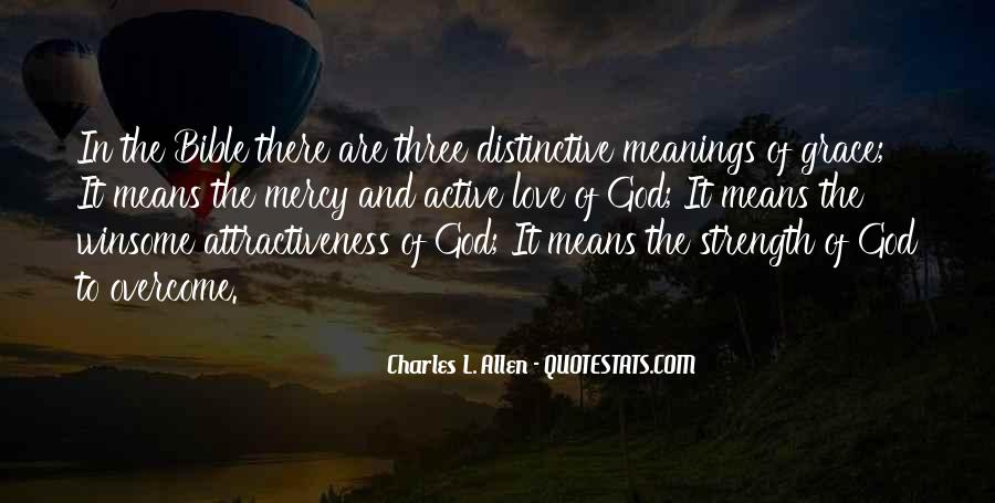 God Strength Quotes #190027