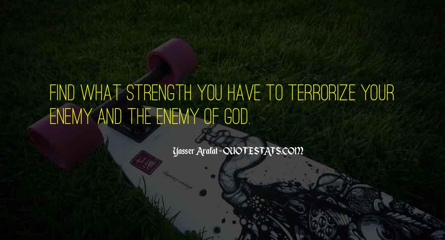 God Strength Quotes #191916