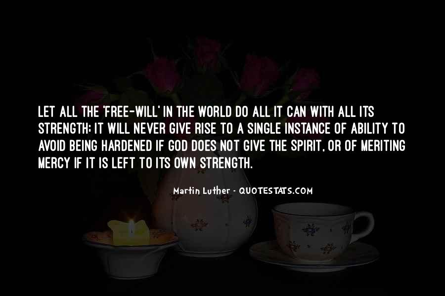 God Strength Quotes #228627