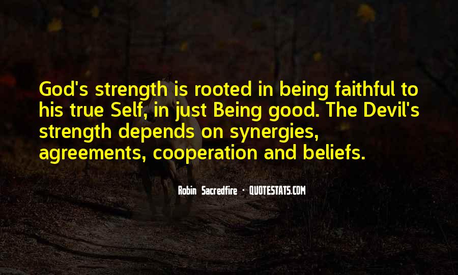 God Strength Quotes #233348