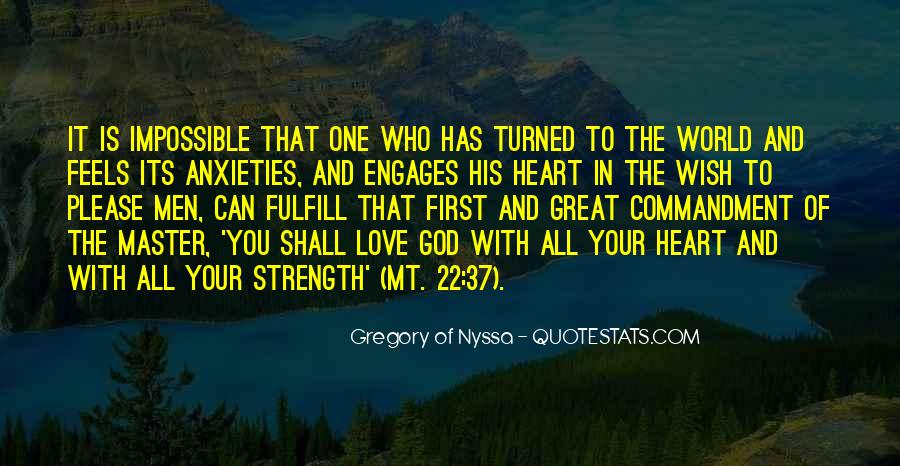 God Strength Quotes #29874